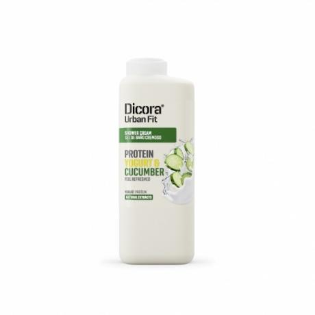 Dicora Urban Fit Shower Cream Protein Yogurt and Cucumber 400ml