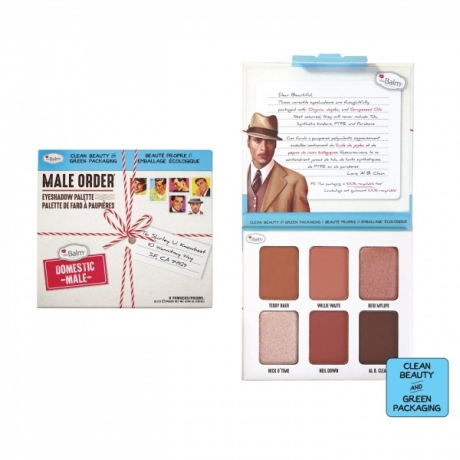 theBalm Eyeshadow Palette Male Order Domestic Male