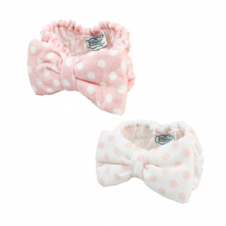 The Vintage Cosmetic Company Make-up Headband Duo Dolly and Winnie