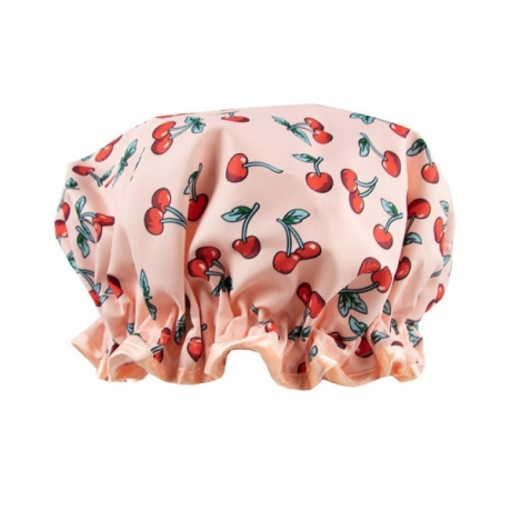The Vintage Cosmetic Company Shower Cap Cherry