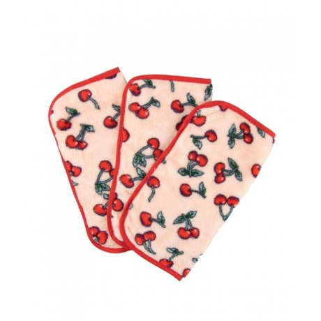 The Vintage Cosmetic Company Make up Removing Cloths Cherry