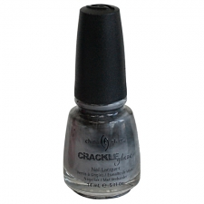 China Glaze Nail Polish Cracked Concrete - Crackle Glaze