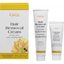 GiGi Крем для удаления волос на лице 28г и Успокаивающий бальзам 14г