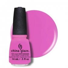 China Glaze Kynsilakka Bottoms Up  Sunsational