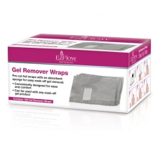 EzFlow Gel Remover Wraps 100 pack