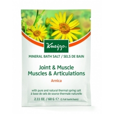 Kneipp Mineral Bath Crystals Salt Joints & Muscle Arnica 60 g