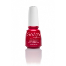 China Glaze Gelaze Gel  Strawberry Fields 9,76ml