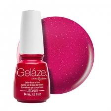 China Glaze Gelaze Гель-лак Strawberry Fields 9,76ml