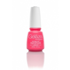 China Glaze Gelaze Gel  Shocking Pink 9,76ml