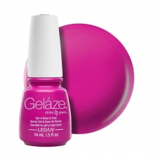 China Glaze Gelaze Гель-лак Purple Panic 9,76ml