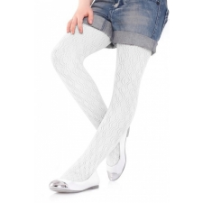 Marilyn Childrens tights Charlotte 274 white 98/122