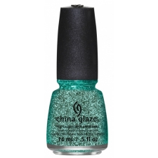 China Glaze Nail Polish Pine-Ing For Glitter  Twinkle