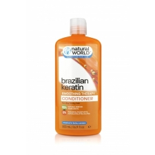 Natural World Brazilian Keratin Smoothing Therapy Conditioner 500ml