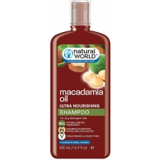Natural World Macadamia Oil Ultra Nourishing Shampoo 500ml