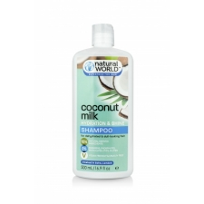 Natural World Coconut Milk Hydration&Shine Shampoo 500ml