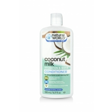 Natural World Coconut Milk Hydration&Shine Conditioner 500ml