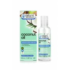 Natural World Coconut Milk Oil Hydration &Shine Weightless Hair Oil