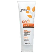 Gena Pedi Warm Warming Exfoliating Scrub with Macadamia Nut Oil 250ml