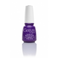 China Glaze Gelaze Gel Plur-Ple 9,76ml