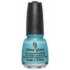 China Glaze Nail Polish What I Like About Blue-Lite Brites