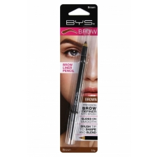 BYS Brow Liner Pencil with Brush Brown