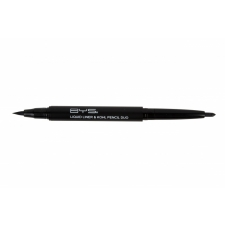 BYS Silmänrajauskynä Double Ended Liquid Liner & Kohl Pencil Black