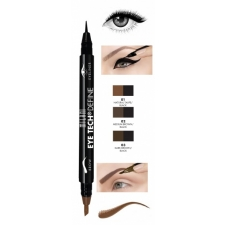 Milani Kulma- ja silmänrajaus Eye Tech Define 2-IN-1 Brow + Eyeliner Felt-Tip Pen Natural Taupe/Black