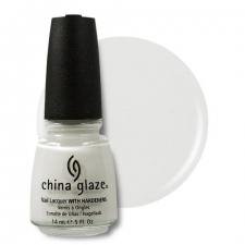 China Glaze Kynsilakka White On White