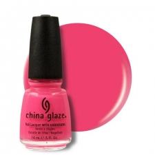 China Glaze Kynsilakka Shocking Pink
