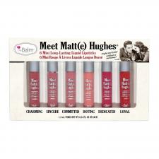 theBalm Meet Matte Hughes Pitkäkestoinen nestemäinen huulipuna Mini Kit 1