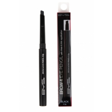 BYS Карандаш для глаз и бровей Auto Brow and Eye Pencil Black