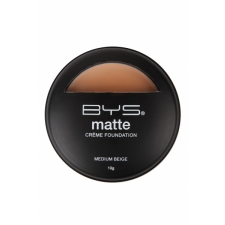 BYS Matte Creme Foundation Medium Beige 10 g