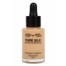 BYS Pure Silk Serum Foundation Medium Beige 23ml