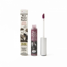 theBalm Meet Matt(e) Hughes Long-Lasting Liquid Lipstick Affectionate