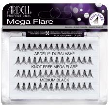 Ardell Mega Flare Knot-Free Medium Black Ripsitupsut