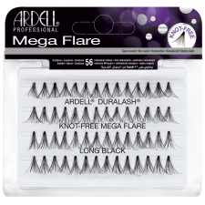 Ardell Mega Flare Knot-Free Individuals Long Black