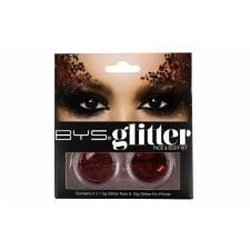 BYS Glitter Face & Body Kit RED
