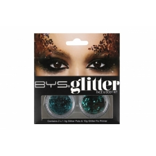 BYS Glitter Face & Body Kit TEAL