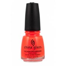 China Glaze Nail Polish Orange Knockout Neon