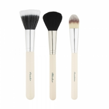 The Vintage Cosmetic Company Sivellinsetti Essential Make-Up Brush Set 3kpl
