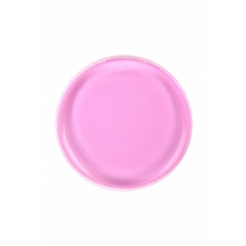 BYS Silicone Blending Sponge Round Bright Pink