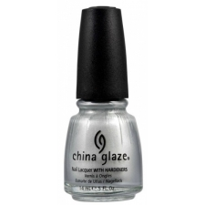 China Glaze Nail Polish Platinum Silver