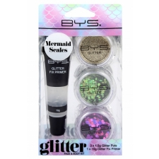 BYS Glitter Face and Body Kit MERMAID SCALES
