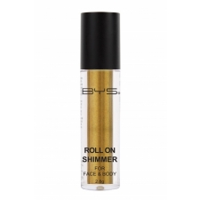 BYS Roll on Shimmer for Face and Body Golden Yellow