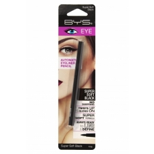 BYS Карандаш для глаз Automatic Eyeliner Pencil Supersoft Black