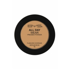 BYS All Day Wear Pressed Powder Medium Beige