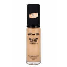 BYS All Day Wear Foundation Medium Beige 30 ml