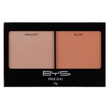 BYS Korostuspuuteri ja poskipuna Highlight and Blush