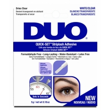 Ardell DUO Quick Set Striplash Adhesive White/Clear 5g