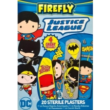 Justice League Sterile Plasters in Box
